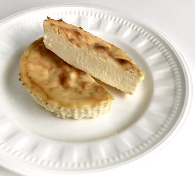 地大豆の豆腐チーズケーキ