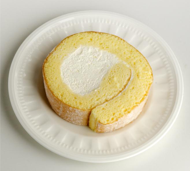 地大豆の豆乳クリームロールケーキ